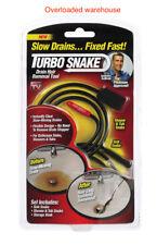 NEW Turbo Snake As Seen On TV Drain Snake 3 pk TSNAKE-CD6 BELOW COST
