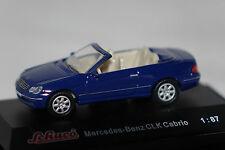 Mercedes clk cabriolet azul 1:87 Schuco nuevo + embalaje orig. 21784