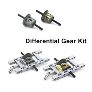 NEW MOC LEGO Technic Differential Gears Set Pack Kits Building Blocks Bricks