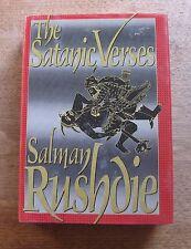 THE SATANIC VERSES by Salman Rushdie  - 1st/1st  HCDJ -  VG+ - 1989