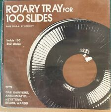 Rotary Tray For 100 Slides