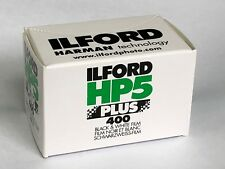 Ilford HP5 400 ISO Recorded 36 2 Films MHD/Expiry date 2020