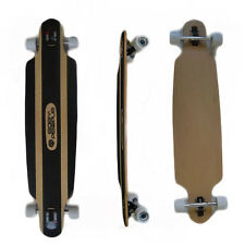 Easy People Drop-0S Natural Drop-Through Longboard Complete Truck Wheels
