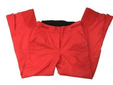 Kjus Womens Ski/Snowboard Pants 40/L Rocket. Large Red 32x30