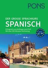 PONS Der große Sprachkurs Spanisch (2016, Taschenbuch)