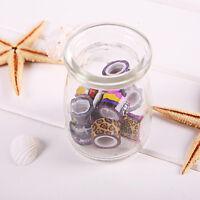 10pcs DIY Washi Masking Tape Basteln Klebeband Reispapier Set DIY