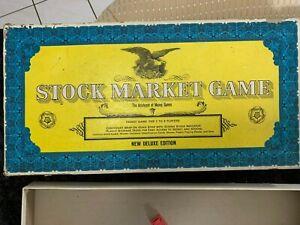 Vintage Stock Market Game New Deluxe Edition 1968 John Sands Australia