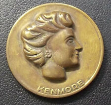 BEAUTY & ANTIQUE KENMORE LADY FACE DESIGN LAMINE DU METAL ART NOUVEAU SEWING??