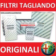 KIT TAGLIANDO 4 FILTRI ORIGINALI ALFA ROMEO 159 1.9 JTDM DAL 2005 AL 2011
