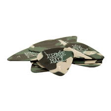 Ernie Ball Thin Camouflage Picks, Bag of 12, P09221