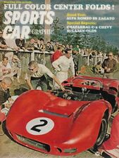 SPORTS CAR GRAPHIC 1966 JAN - ALFA ROMEO SS ZAGATO, CHAPARRAL 2-C*