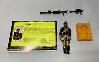 G.I.Joe 1992 Stalker Talking Battle Commander Ranger Complete with File Card