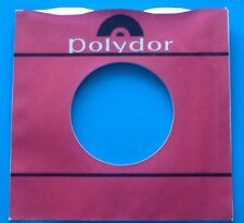 Ten Replicas Of Original Used Polydor Label, Company Record Sleeve, Pack Of 10