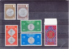 Guernsey 1982 - Coins - MNH Set - SG-177-198 Complete to £5