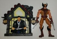 "Marvel Legends Series 6 BROWN SUIT WOLVERINE Loose 6"" Figure Toy Biz X-Men 2004"