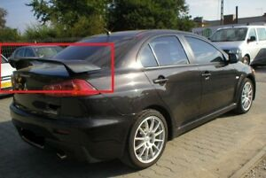 MITSUBISHI LANCER 10 X GTS LOOK REAR BOOT / TRUNK SPOILER NEW