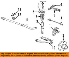 FORD OEM Rear Suspension-Coil Spring 1L2Z5560BA