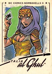 TALIA al GHUL / DC Comics Bombshells II 2 (2018) BASE Trading Card #33