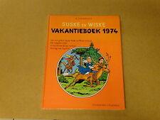 STRIP / SUSKE EN WISKE: VAKANTIEBOEK 1974 | 1ste druk