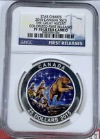 2015 Canada Silver Star Charts - The Great Ascent - NGC PF70UCAM First Releases