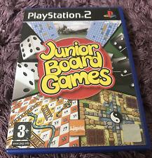 Junior Board Games Playstation 2 Familie Spaß Komplett mit Anleitung Neuwertig
