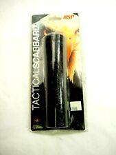 ASP Black Basketweave Leather Tactical Baton Scabbard Model F21 New