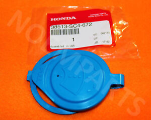 NEW Genuine OEM Honda Windshield Washer Bottle Cap Ring Lid Cover SC4