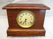 Antique Rosewood Wooden Shelf/Mantle Chime Clock Seth Thomas Movement Needs Love
