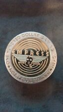 Empress  Casino $100 Gaming Token  . Joliet Illinois . 40mm .08 oz  (Rare ).