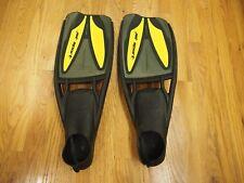 ScubaPro Jet-Sport (Full Foot) Fins / Black / Yellow / M 7-8