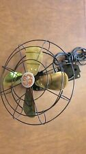 Really Neat Vintage General Electric Fan with Brass Blade