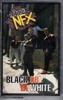 NEW Possie NFX Black Or Ya White 1991 Cassette Tape Album Rap Hiphop