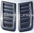 Focus MK2 RS style ABS Carbon effect bonnet vents *FORD PROFILE*