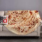 71%22+Round+Taco+Burrito+Tortilla+Shaped+Blanket+Soft+Flannel+Wrap+Throw+Blankets