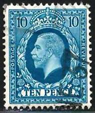 Great Britain 1913 Very Fine Used Stamp Scott # 171 George V  10p  CV  22.50$