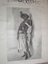 British Central Africa H H Johnston escort to Tanganyika 1890 old print