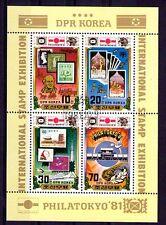 Corea  sello sobre sello año 1981 (Y-119)