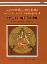 YOGA & KRIYA Systematic Course in the Ancient Tantric Techniques S.Saraswati NEW