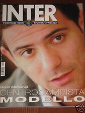 INTER FOOTBALL CLUB 2004/5 STANKOVIC MARSEILLE BENFICA