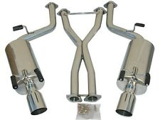 """Exhaust Catback System For 90-95 300ZX 2+2 Seater, 2.5"""" Pipe, 4"""" tip, 8"""" Muffler"""