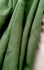 Venta De Tela Vintage De Diseñador Jacquard Cortina Tela de algodón verde Azteca 5 Mtr