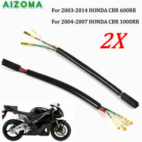 3 Wire Turn Signal Indicator Wiring Adapter Plug For Honda CBR 600RR CBR 1000RR