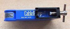 Professional TV Cavo Coassiale CUTTER CON BANCO MORSETTO da cableprep 800-394-4046 Z1134