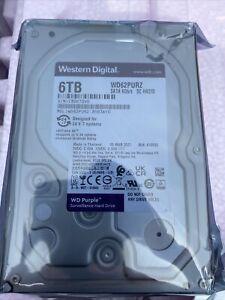 """Western Digital Purple 6 TB, Internal, 5400 RPM, 3.5"""" (WD62PURZ) Hard Drive"""