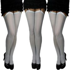 2 Pair Classic Suspender Hold Ups Purple//Lilac Belt UNIVERSAL SIZE S-XL New