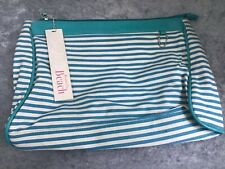 TOILET BAG / BEACH BAG BY ACCESSORIZE BLUE STRIPED 💕 H1838