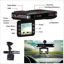 "New listing 2.0"" Car Off-Road Lcd Dvr Video Recorder Radar Laser Detector Speed Alert System"
