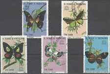 Timbres Papillons St Thomas et Prince 1264CV/CY o lot 8491