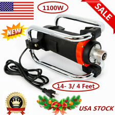 1100W 16000Rpm Electric Concrete Vibrator Remove Air Bubbles Level+4.5M Poker Us