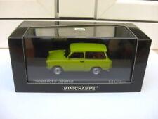 Trabant 601S Universal 1985 green Minichamps 400014010 MIB 1:43 wartburg tatra